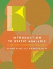 Introduction to Static Analysis : An Abstract Interpretation Perspective - Book