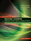 Fundamentals of Machine Learning for Predictive Data Analytics : Algorithms, Worked Examples, and Case Studies - eBook