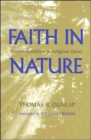 Faith in Nature : Environmentalism as Religious Quest - Book