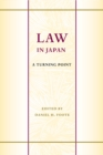 Law in Japan : A Turning Point - Book