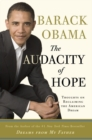 Audacity of Hope - eBook