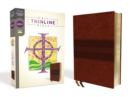 NRSV, Thinline Bible, Leathersoft, Brown, Comfort Print - Book