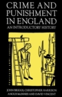 Crime and Punishment in England, 1100-1990 : An Introductory History - Book