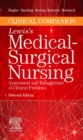 Clinical Companion to Lewis's Medical-Surgical Nursing : Assessment and Management of Clinical Problems - Book