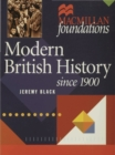 Modern British History : Since 1900 - Book