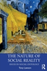 The Nature of Social Reality : Issues in Social Ontology - Book