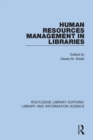 Human Resources Management in Libraries - Book