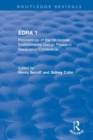 EDRA 1 : Proceedings of the 1st Annual Environmental Design Research Association Conference - Book