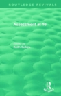 Assessment at 16 - Book