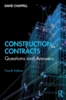 Construction Contracts : Questions and Answers - Book