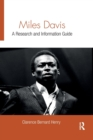 Miles Davis : A Research and Information Guide - Book