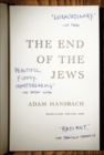 The End of the Jews - Book