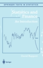 Statistics and Finance : An Introduction - Book