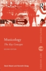 Musicology: The Key Concepts - Book