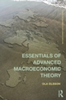 Essentials of Advanced Macroeconomic Theory - Book