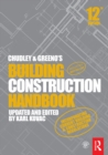Chudley and Greeno's Building Construction Handbook - eBook