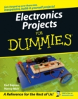 Electronics Projects For Dummies - Book