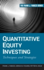 Quantitative Equity Investing : Techniques and Strategies - Book