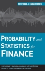 Probability and Statistics for Finance - Book