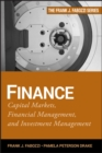 Finance : Capital Markets, Financial Management, and Investment Management - Book