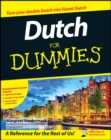 Dutch For Dummies - Book