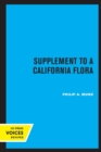 Supplement to A California Flora - Book