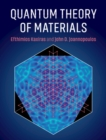 Quantum Theory of Materials - Book