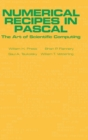 Numerical Recipes in Pascal (First Edition) : The Art of Scientific Computing - Book