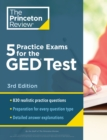 5 Practice Exams for the GED Test - Book