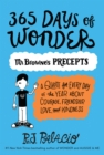 365 Days of Wonder: Mr. Browne's Precepts - eBook