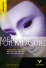 Measure for Measure: York Notes Advanced - Book