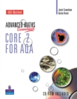 A Level Maths Essentials Core 2 for AQA Book and CD-ROM - Book