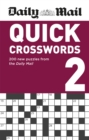 Daily Mail Quick Crosswords Volume 2 - Book
