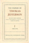 The Papers of Thomas Jefferson, Volume 1 : 1760 to 1776 - Book