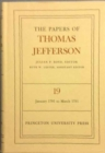 The Papers of Thomas Jefferson, Volume 19 : January 1791 to March 1791 - Book