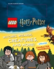 Witches, Wizards, Creatures, and More! Updated Character Handbook (Lego Harry Potter) - Book