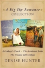 Big Sky Romance Collection : A Cowboy's Touch, The Accidental Bride, The Trouble with Cowboys - eBook
