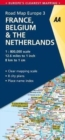 3. France, Belgium & the Netherlands : AA Road Map Europe - Book