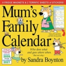 2021 Mums Family Calendar - Book
