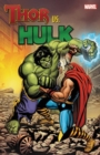 Thor vs. Hulk - Book