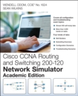 CCNA Routing and Switching 200-120 Network Simulator, Academic Edition, Student Version - Book