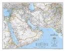 Middle East, Tubed : Wall Maps Countries & Regions - Book