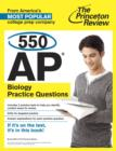 550 AP Biology Practice Questions - eBook