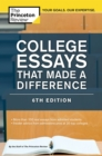 College Essays That Made a Difference, 6th Edition - eBook