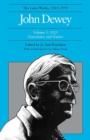 The Later Works of John Dewey, Volume 1, 1925 - 1953 : 1925, Experience and Nature - Book