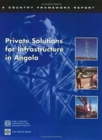 Private Solutions for Infrastructure in Angola - Book