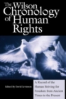 Wilson Chronology of Human Rights - Book