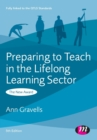 Preparing to Teach in the Lifelong Learning Sector - Book