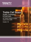Treble Clef Brass Scales 1-8 from 2015 - Book