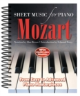 Wolfgang Amadeus Mozart: Sheet Music for Piano : From Easy to Advanced; Over 25 Masterpieces - Book